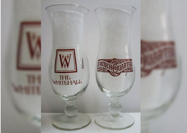 The Whitehall Hurricane Glasses